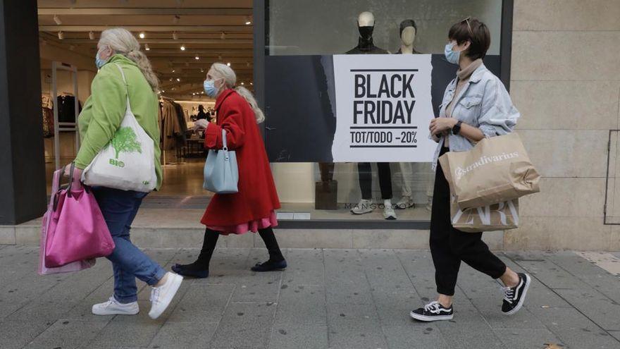 Los comerciantes de Palma, pesimistas con las ventas del Black Friday