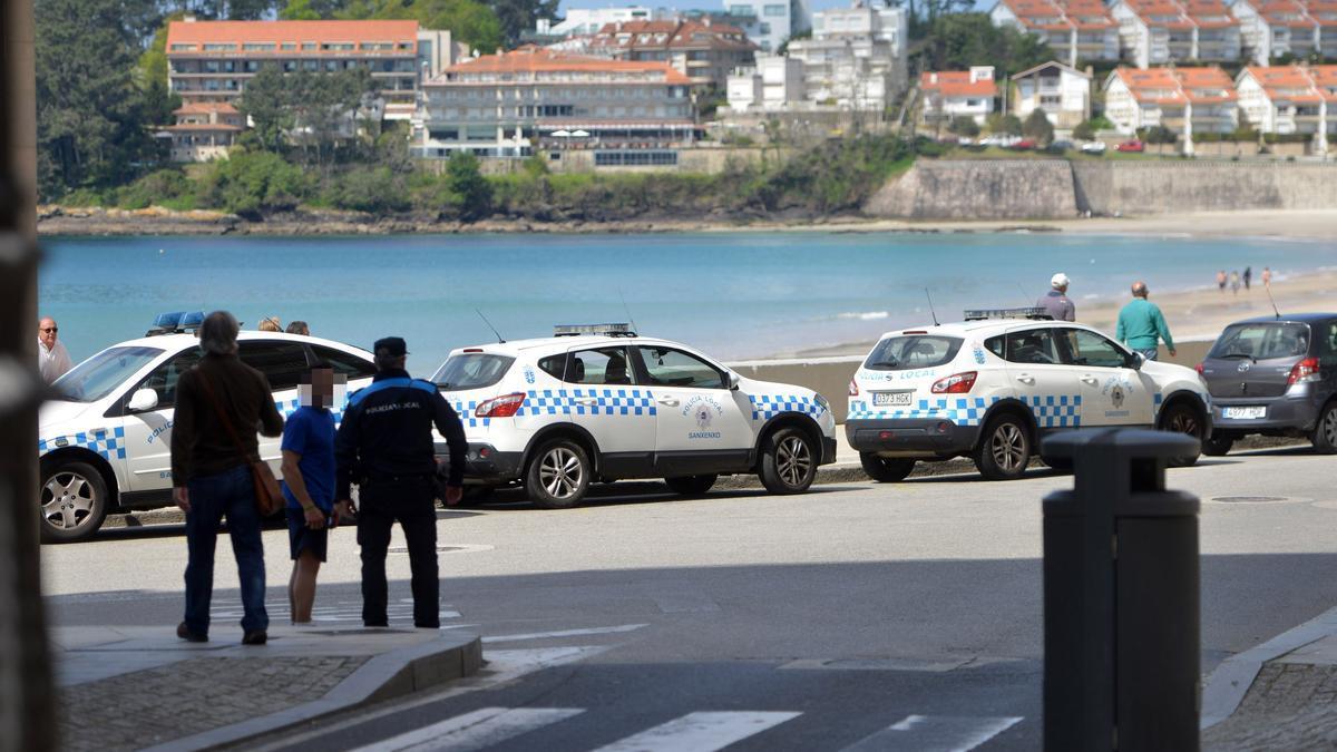 La Policía Local socorrió al hombre