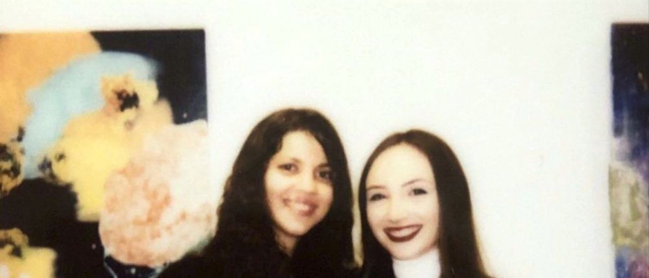 Diana Fleitas y Beatriz Rodríguez.