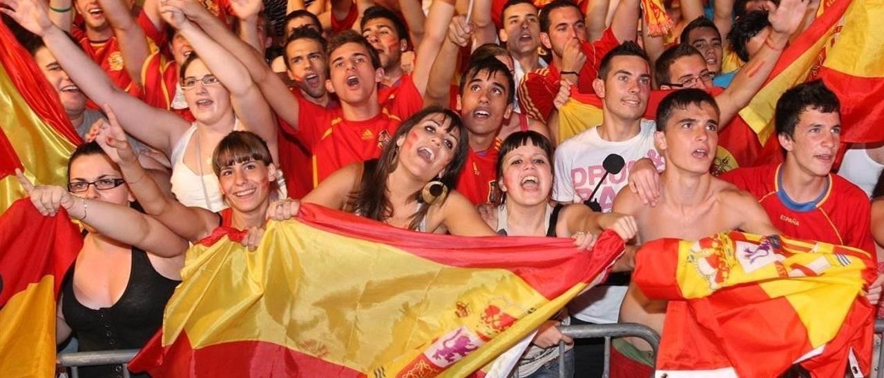 Anima a 'La Roja' con 'Mediterráneo'