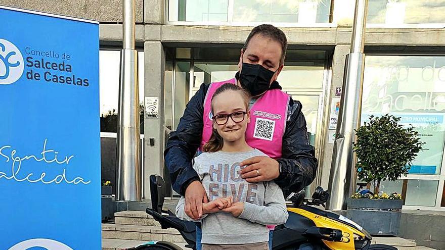 1.500 kilómetros solidarios por el síndrome de Rett