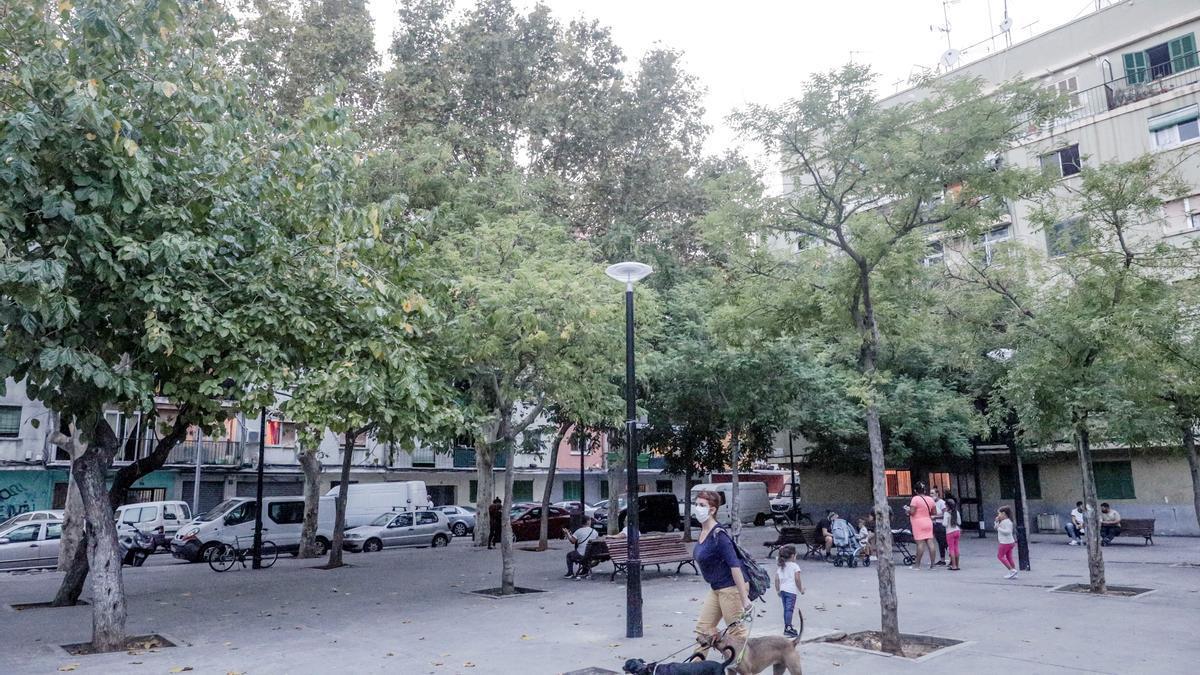 Son Gotleu, barrio vulnerable de Palma.