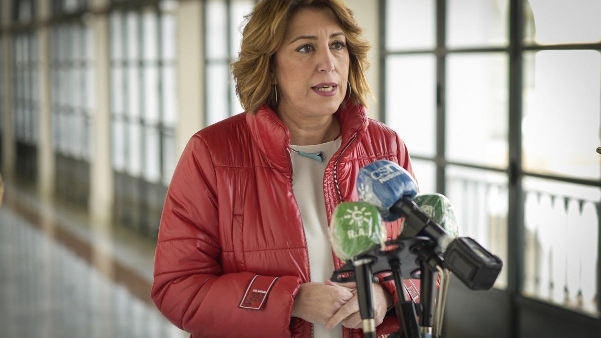 """Susana Díaz defiende la """"renovación"""" del PSOE-A"""