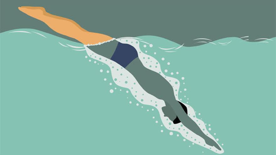 Nada más que nadar