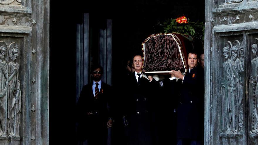 El Supremo tumba los recursos pendientes contra la exhumación de Franco