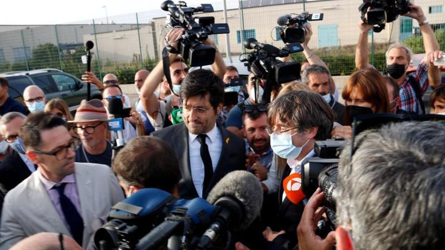 La justícia italiana deixa en llibertat a Carles Puigdemont