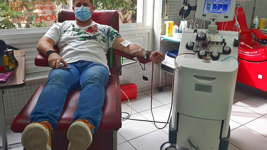 Sanidad solicita de los ciudadanos canarios que donen plaquetas