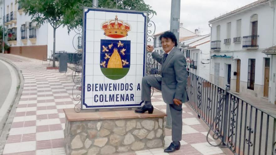 Emi Bonilla sonríe en Colmenar