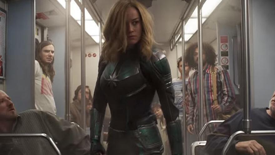 Seis agujeros de guión de 'Capitana Marvel'