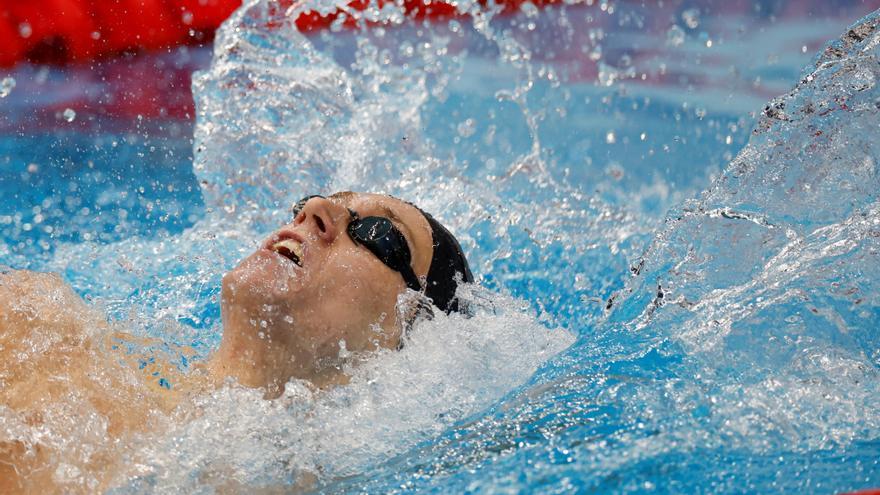 El nadador Nicolás García pasa a semifinales de los 200 espalda