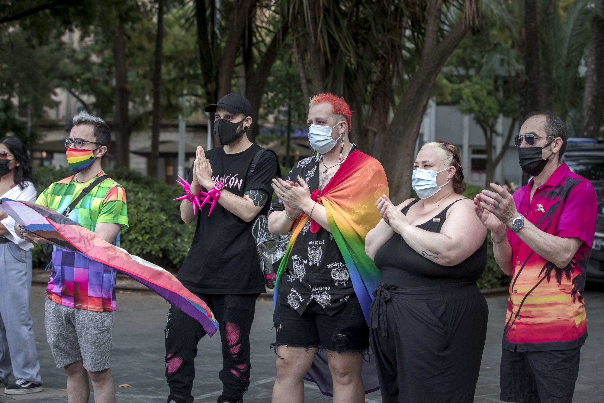 Manifestación LGTBI en Palma: «Sufrimos agresiones cada día»