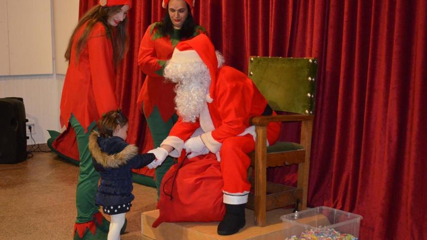 El temporal suspende la cabalgata de Papá Noel en Benavente y traslada el encuentro a La Encomienda