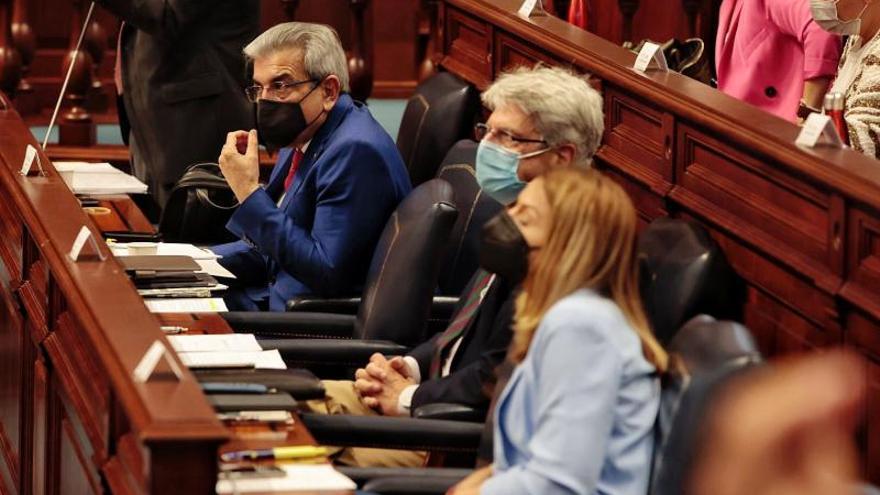 Pleno del Parlamento de Canarias (25/5/21)