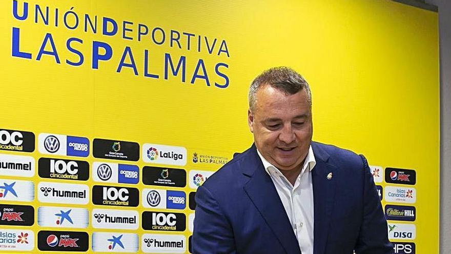 """Miguel Ángel Ramírez: """"El Tenerife está mejor que la UD Las Palmas"""""""