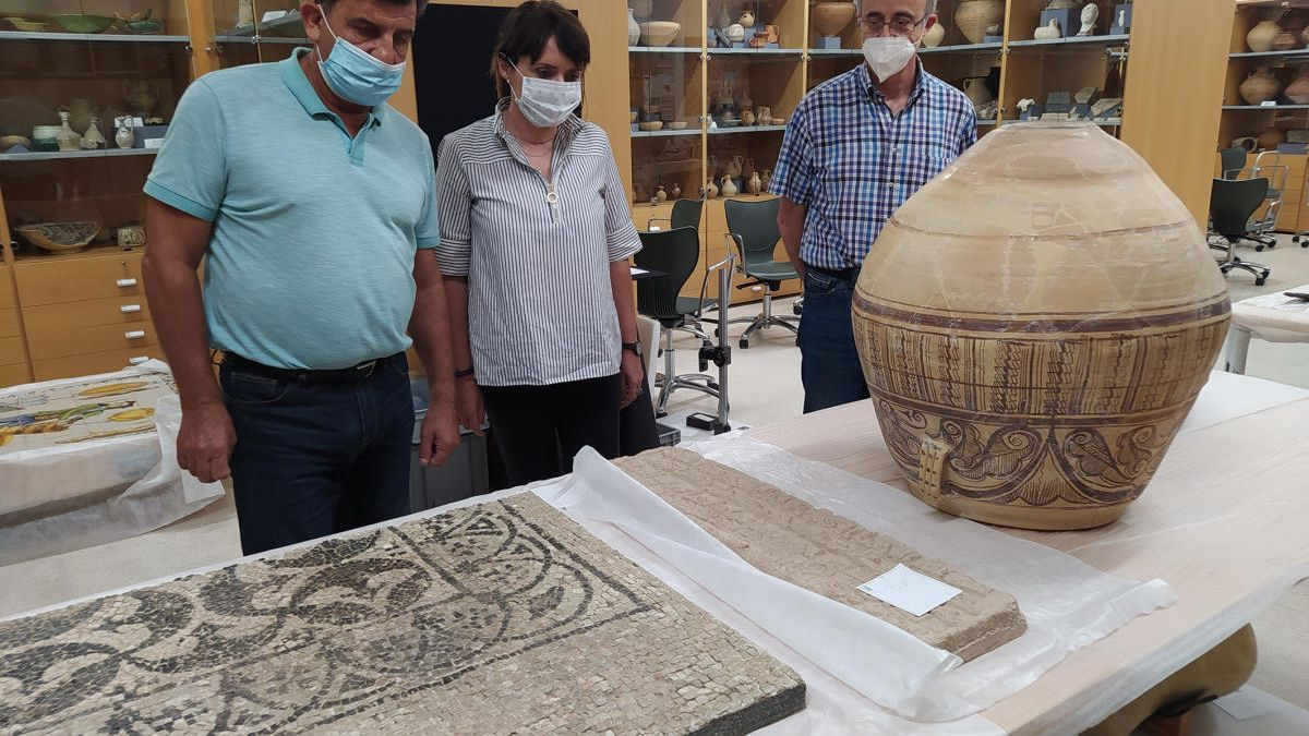 La exposición de las piezas enviadas desde el museo de la provincia ha sido todo un éxito en el Museo Nacional de Irán