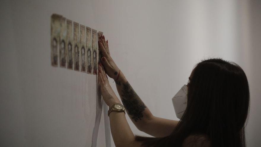 NIt de l'Art 2020: Teresa Margolles, en plena acción en Es Baluard