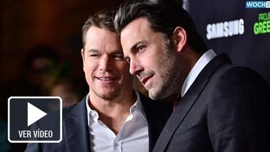 Matt Damon y Ben Affleck incorporarán la cláusula de inclusión