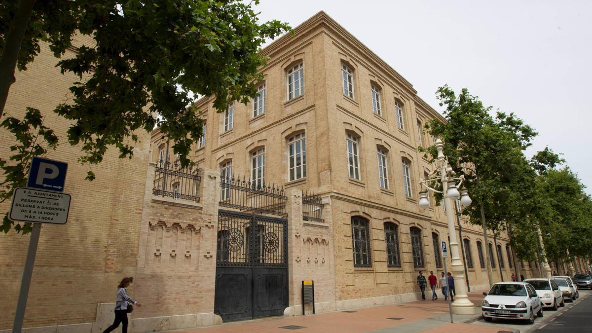 Tabacalera, donde se encuentra enclavada el área de Urbanismo del Ayuntamiento de València.