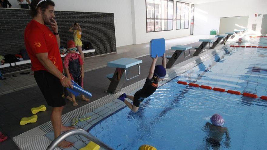 Cursos de natación en Zamora: niños, adultos, aquaembarazo...