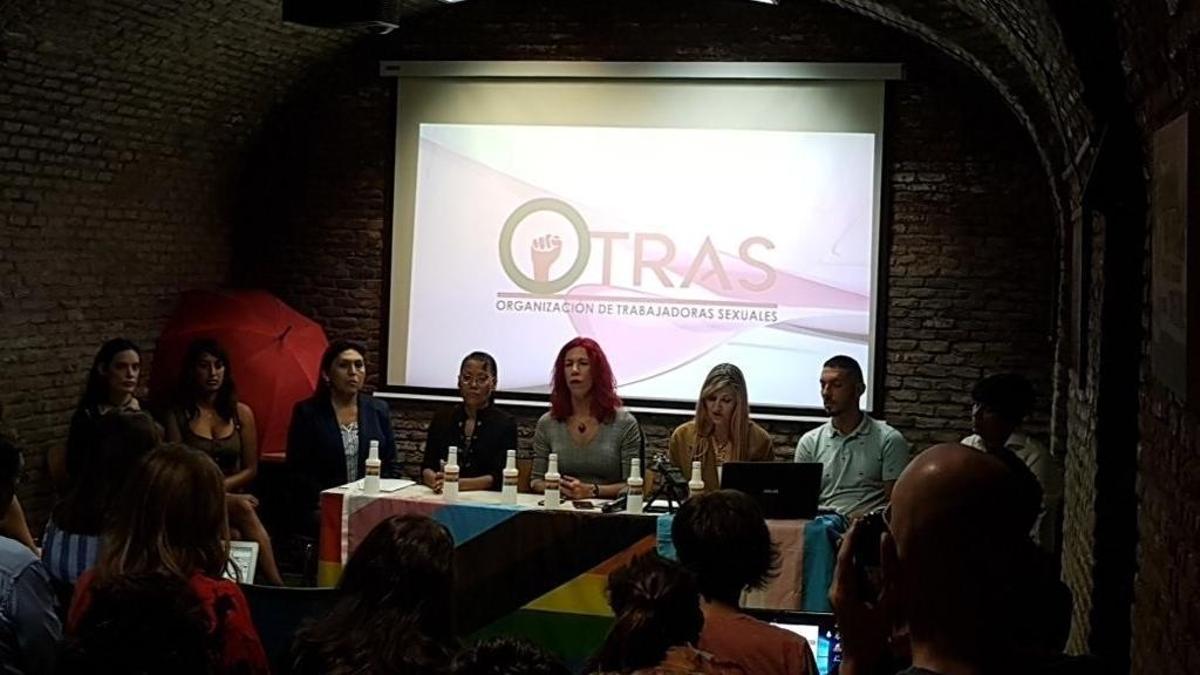 El Sindicato de Trabajadoras Sexuales (OTRAS).