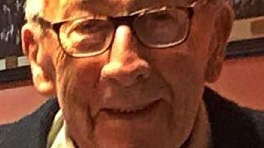Muere a los 91 años José Benito Goberna, el socio más antiguo del UP Langreo