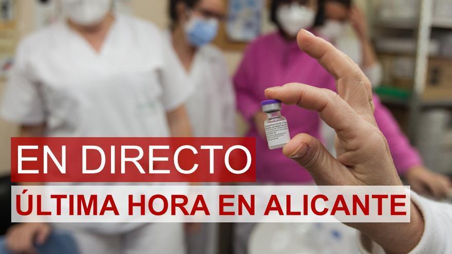 DIRECTO | Última hora del coronavirus en Alicante hoy: nuevas restricciones, récord de contagios y brotes