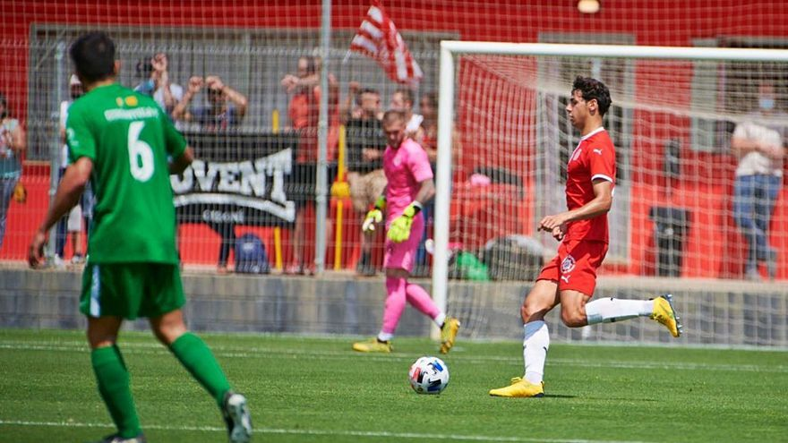 El primer partit del Girona B a Riudarenes es disputarà a porta tancada