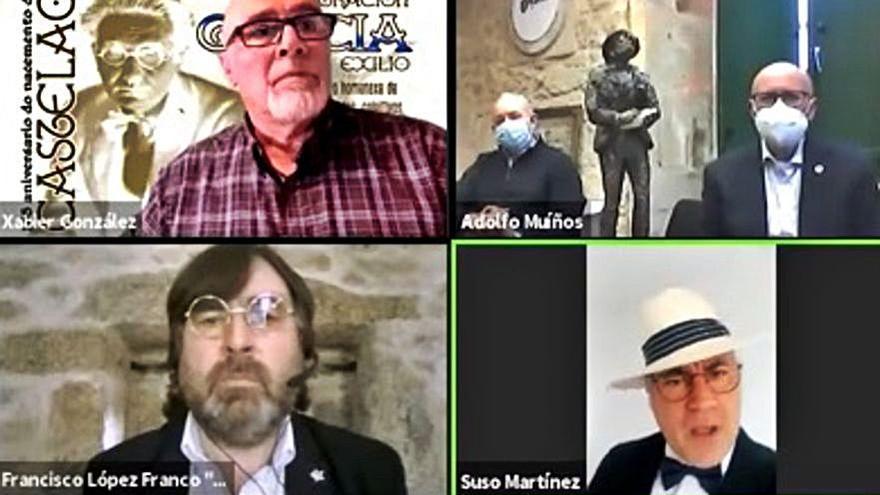 Los galeguistas defienden los valores e ideales de Castelao