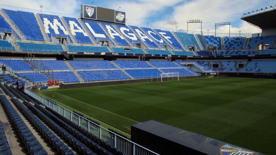 El Málaga CF celebrará el 80 cumpleaños de La Rosaleda el 5 de octubre