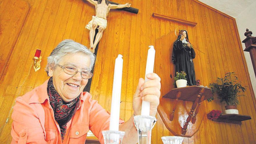 Anita, la guardiana de Santa Rita