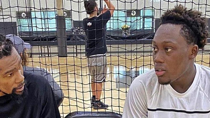 La foto de Durant y su pelo que es tendencia