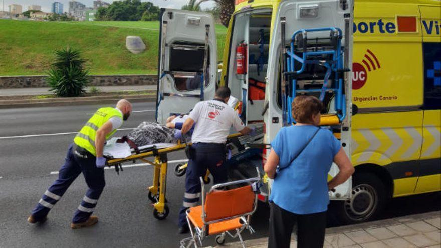 Herido de gravedad un niño de cinco años en Vecindario tras un atropello