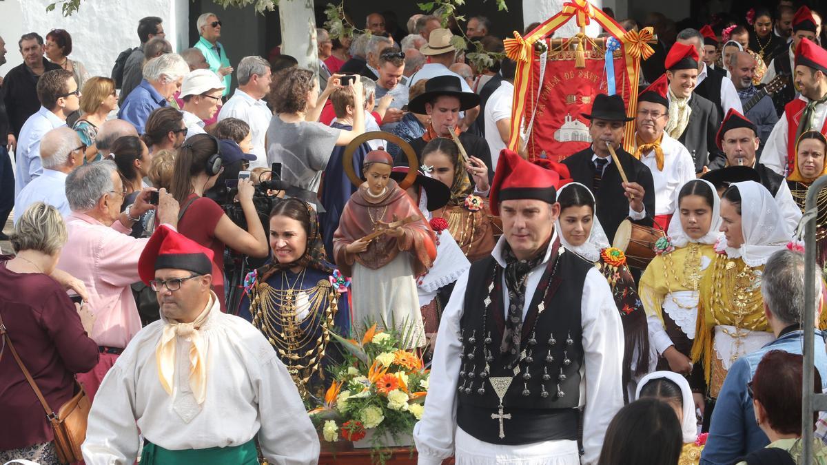 Imagen de archivo de las fiestas patronales de Sant Carles