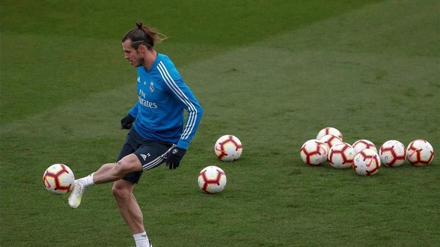 Gareth Bale regresa a los entrenamientos del Real Madrid