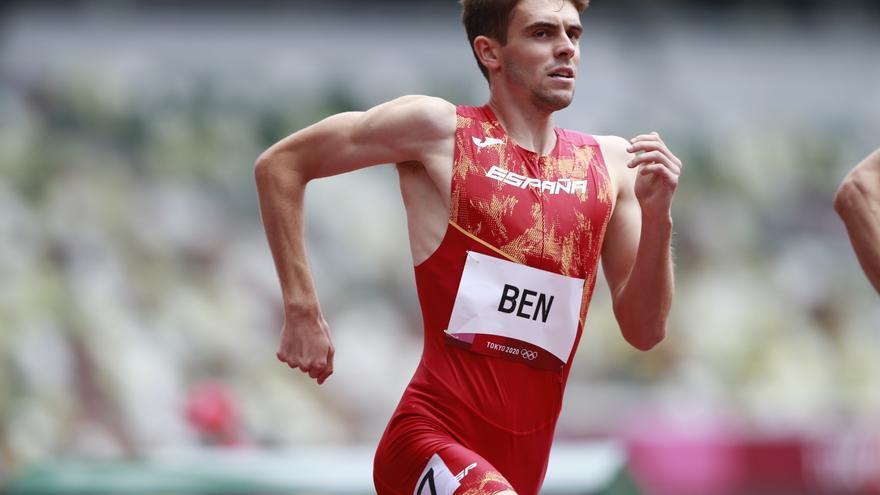 Adrián Ben pasa a las semifinales de los 800 metros