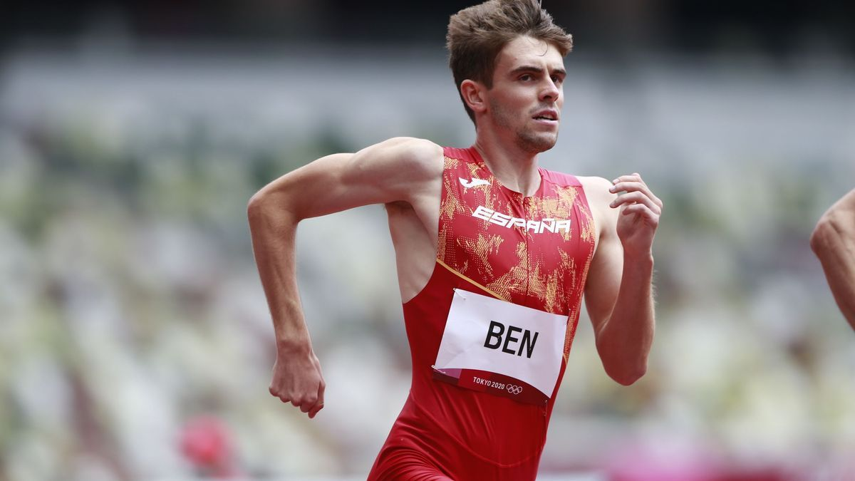 El español Adrián Ben.