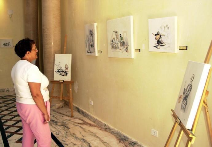 EXPOSICIÓN DE PLUMILLAS JUAN TORRES
