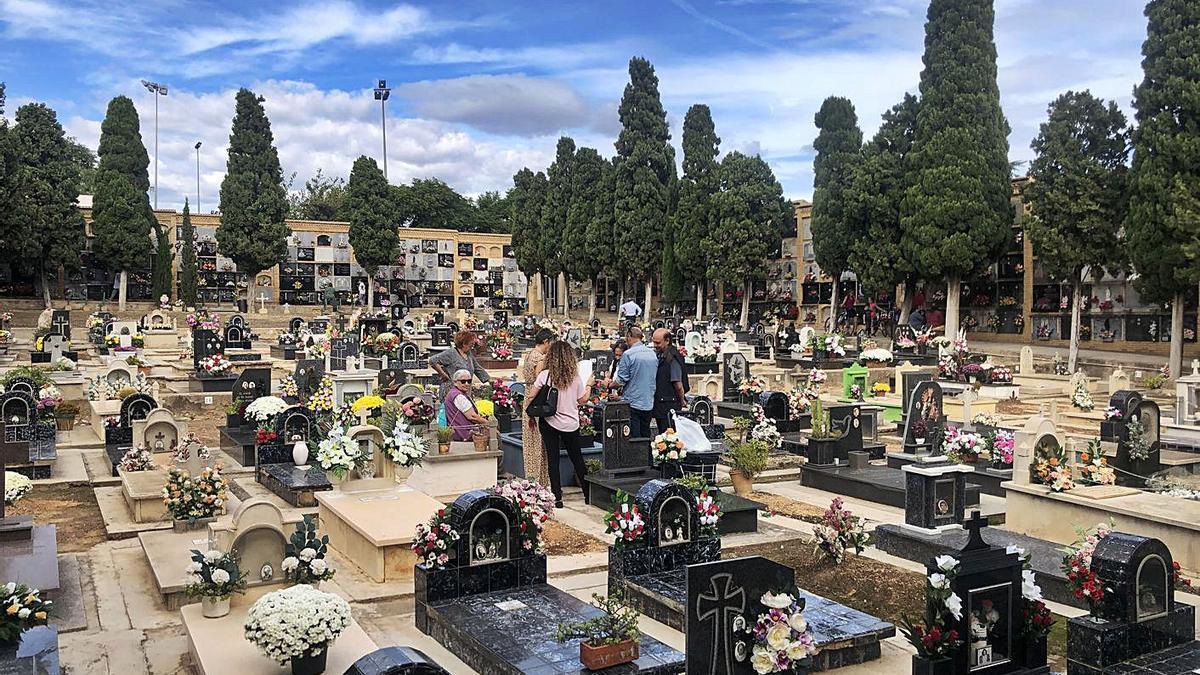 El cementerio de Paterna, en una imagen tomada en 2019.   LEVANTE-EMV