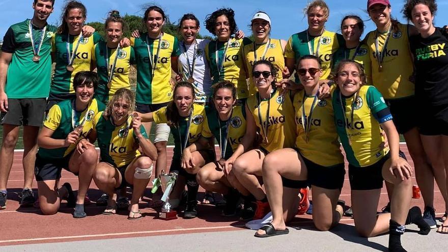 Rugby Turia, bronce en la Copa de España de Seven