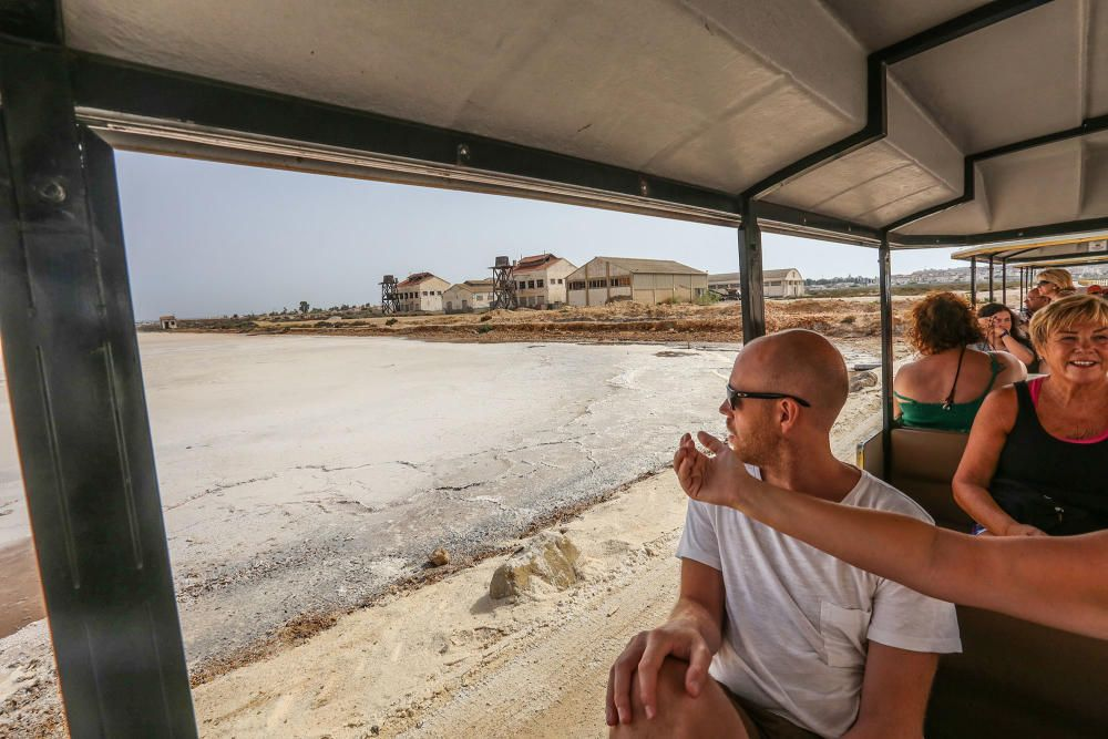 Grupo Salins ha puesto en marcha los itinerarios turísticos al interior de la salinera esta semana