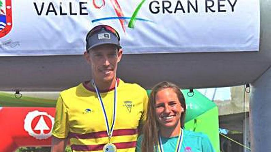 Karim Balli y Raquel Arostegui se alzan con el título regional