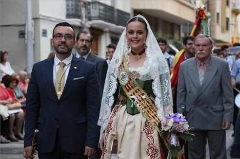 Ofrenda de flores a Sant Pasqual en Vila-real