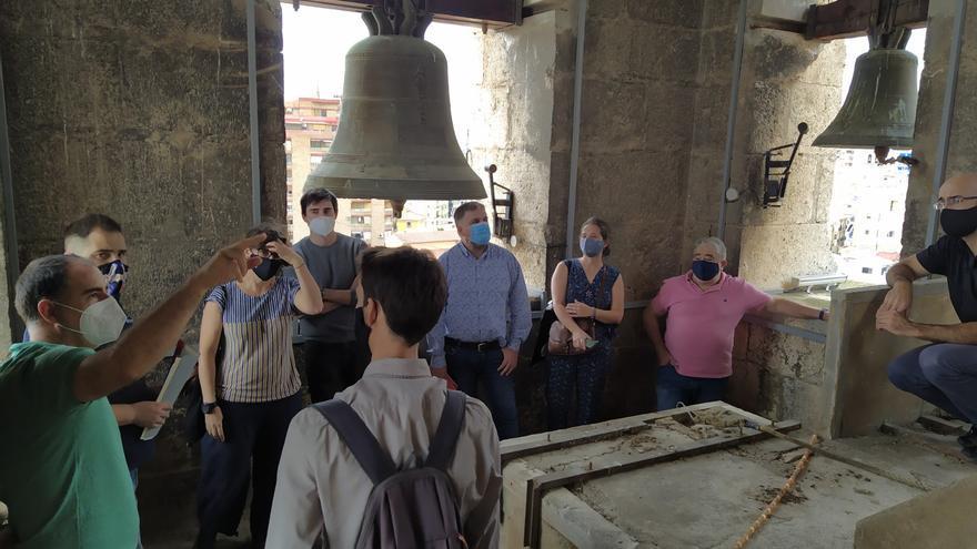 De campanario a mirador turístico en Villena