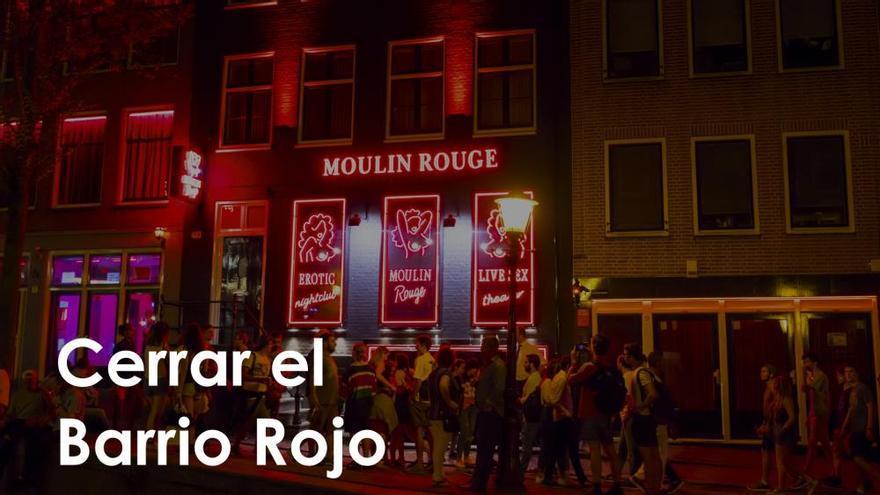Ámsterdam propone cerrar el Barrio Rojo por el turismo masivo