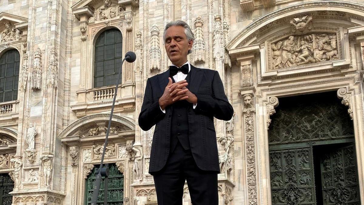 Andrea Bocelli duda de la gravedad del covid-19