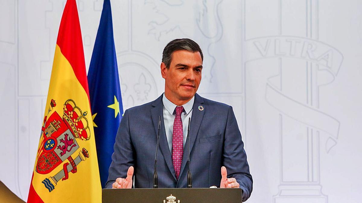 El president del Govern espanyol, Pedro Sánchez | EP