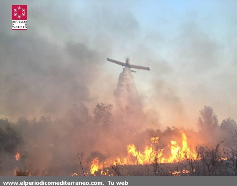 Incendio en Sant Mateu