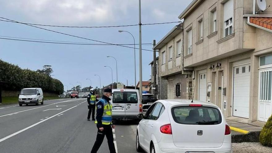 La Policía Local interpone 23 denuncias en Arteixo por incumplir las restricciones del COVID