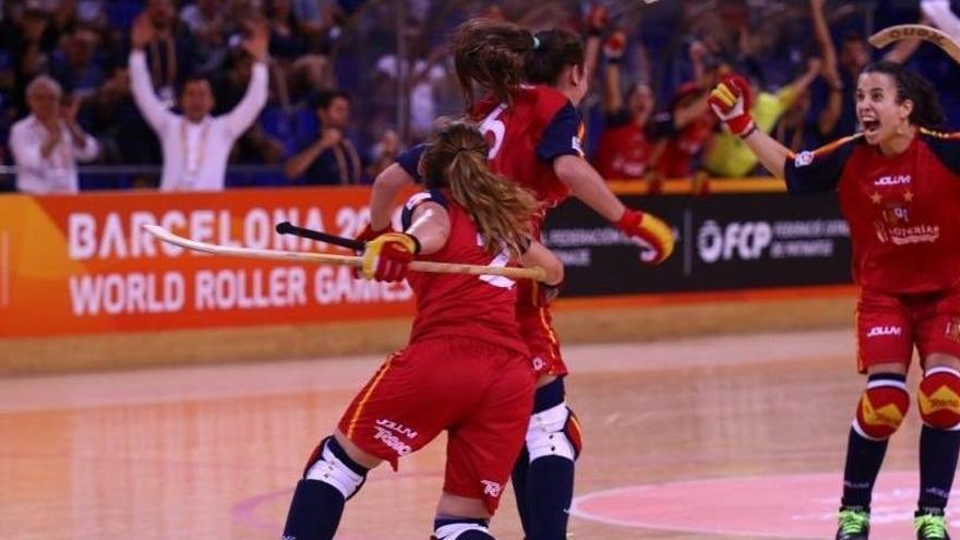 España, campeona del mundo femenina de hockey patines por séptima vez