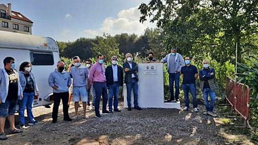 Caldas inaugura su primera área de estacionamiento de autocaravanas